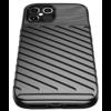 Apple iPhone 12 / 12 Pro Thunder Case Fekete Színű Ütésálló Szilikon Tok