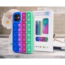 Apple iPhone 12 / 12 Pro Bubble Pop It Up Szilikon Tok Színes