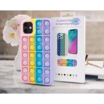 Samsung A21S Bubble Pop It Up Szilikon Tok Színes