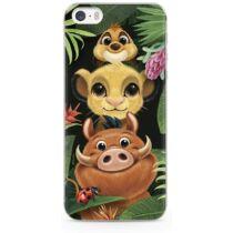 Apple iPhone 11 Pro Max Disney Simba and Friends Mintás Szilikon Tok Átlátszó