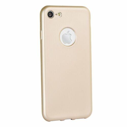 Apple iPhone 5 / 5S / SE Jelly Matt Arany Színű Szilikon Tok