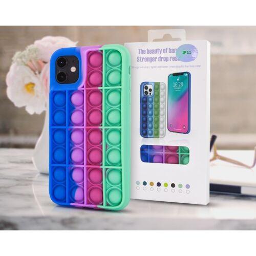 Apple iPhone 11 Pro Max Bubble Pop It Up Szilikon Tok Színes
