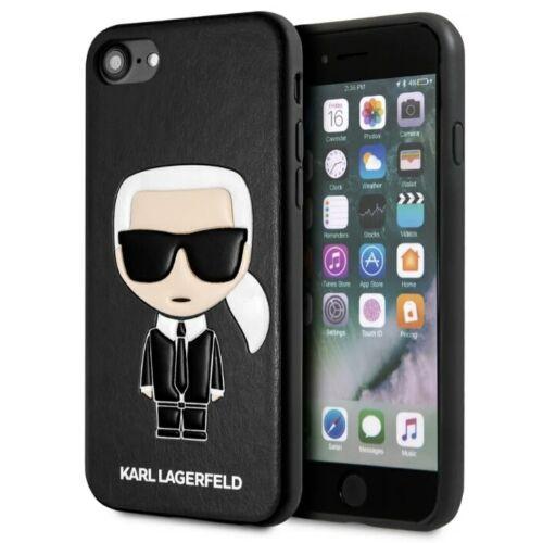 Apple iPhone 7 / 8 / SE 2020 Karl Lagerfeld Hátlapvédő Tok Fekete (KLHCI8IKPUBK)