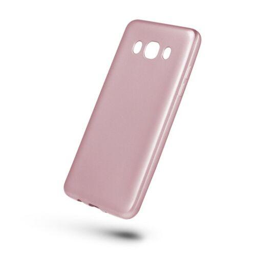 Huawei Y6 2018 Jelly Matt Rosegold Színű Szilikon Tok