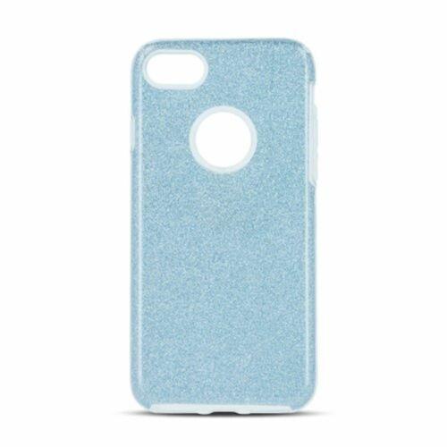 Apple iPhone XS Max Shining Glitter 3in1 Kék Színű Szilikon Tok