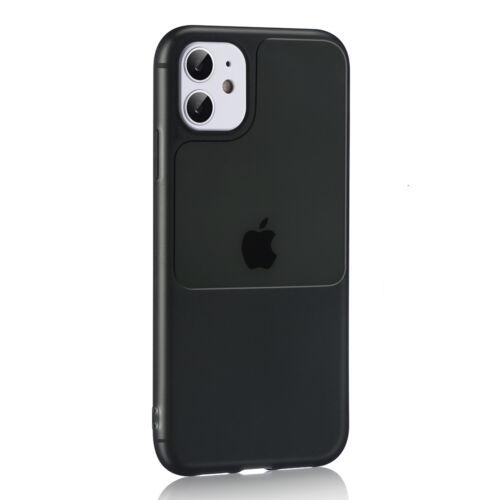 Apple iPhone 11 Pro TEL PROTECT Window Fekete Színű Szilikon Tok