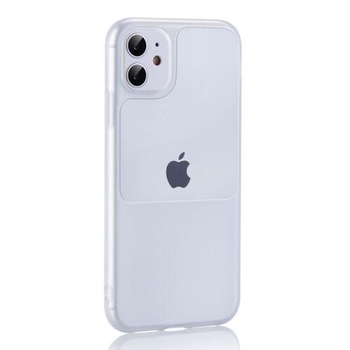 Apple iPhone 12 Mini TEL PROTECT Window Átlátszó Szilikon Tok