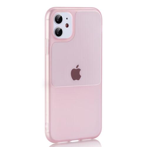 Apple iPhone 12 Mini TEL PROTECT Window Rózsaszín Színű Szilikon Tok