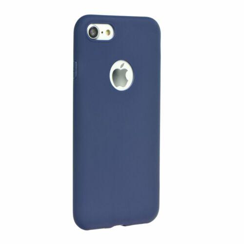 Apple iPhone 12 / 12 Pro Matt Sötétkék Színű Szilikon Tok