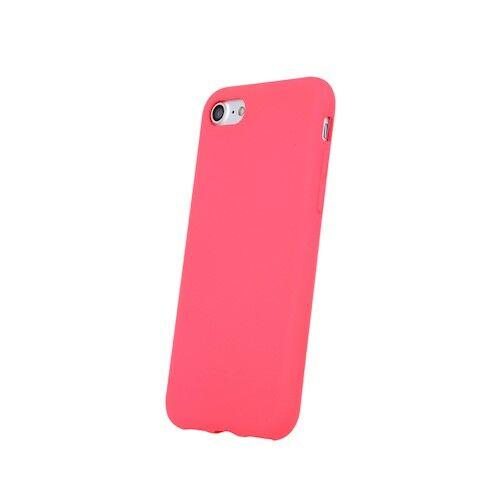 Apple iPhone X / XS Silicone Matt Felületű Rózsaszín Színű Szilikon Tok