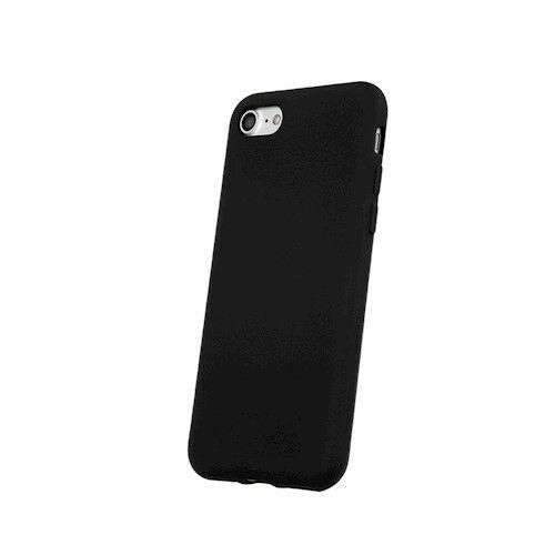Samsung A02S Silicone Matt Felületű Fekete Színű Szilikon Tok