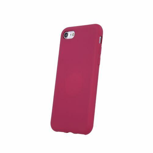 Apple iPhone XR Silicone Matt Felületű Maroon Színű Szilikon Tok