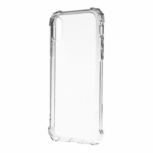 Apple iPhone X / XS Devia Crystal Shockproof Protectiv Ütésálló Átlátszó Szilikon Tok