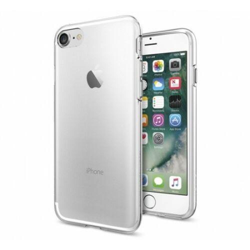 Apple iPhone XR Clear Vékony Átlátszó Szilikon Tok