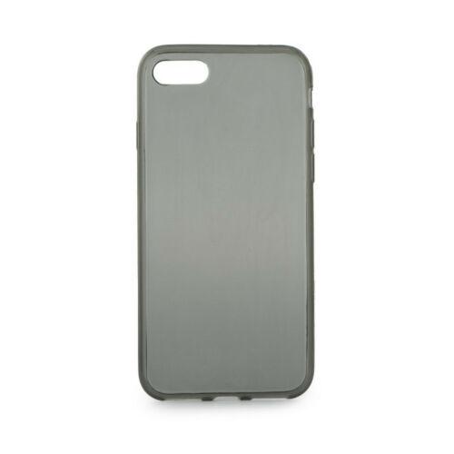 Apple iPhone 5 / 5S / SE Clear Vékony Füst Színű Szilikon Tok