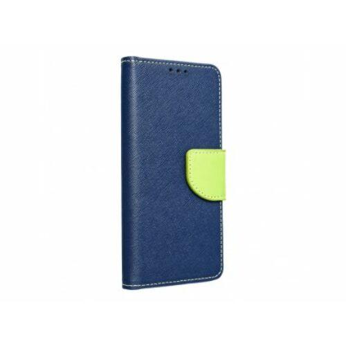 Huawei Mate 10 Lite Fancy Kék/Lime Színű Oldalra Nyíló Tok