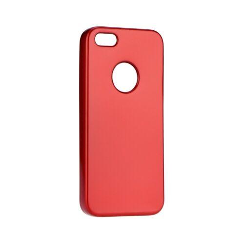 Huawei P8 lite Jelly Matt Piros Színű Szilikon Tok