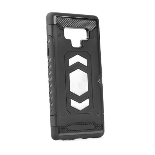 Apple iPhone XR Armor Defender Magnetic Fekete Színű Műanyag Tok