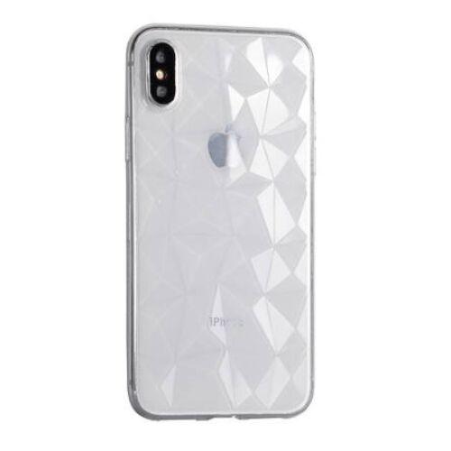 Huawei P20 Pro Geometric Átlátszó Szilikon Tok