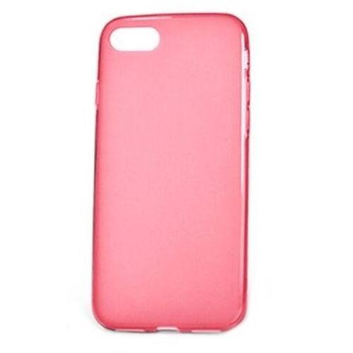 Apple iPhone 6 / 6S Clear Rózsaszín Színű Szilikon Tok